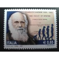 Италия 2009 Дарвин, происхождение видов