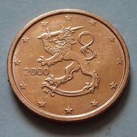 2 евроцента, Финляндия 2000 г., AU