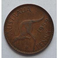 Австралия 1 пенни, 1959 3-13-15