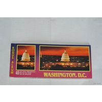 Набор почтовых карточек (20 штук) с видами округа Вашингтон