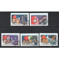 Исследование космоса Мадагаскар 1985 год серия из 5 марок