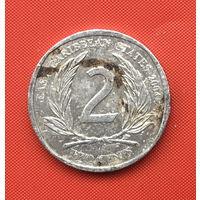 75-29 Восточные Карибы, 2 цента 2004 г