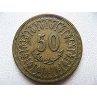 Тунис 50 миллимов 1993 г.
