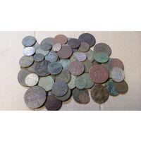 Сборный лот монет ВКЛ,РИ. Более 120 шт.