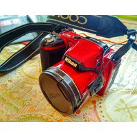 Фотоаппарат Nikon Coolpix L810 красный классный