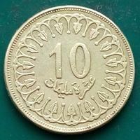10 миллимов 1997 ТУНИС