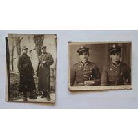 Старинные фотографии польских военных.