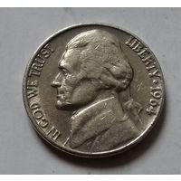 5 центов, США 1964 D