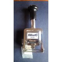 Нумератор автоматический Kw-Trio 02070 металлический, 7 разрядов.
