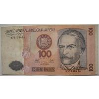 Перу 100 интис 1987 г.
