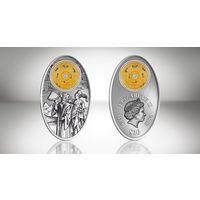 """Фиджи 10 долларов 2012г. """"Альмагест К. Птоломея"""". Монета в капсуле; сертификат. СЕРЕБРО 20гр."""