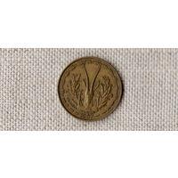 Того 10 франков 1957 /фауна///MY/