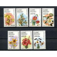 Гвинея-Бисау - 1989 - Цветы. Лилии - [Mi. 1049-1055] - полная серия - 7 марок. MNH.