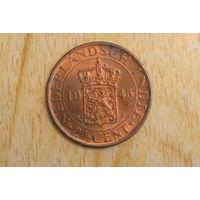 Голландская Индия 2 1/2 цента 1945