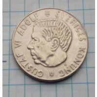 Швеция 1 крона 1973г. Густав Адольф.