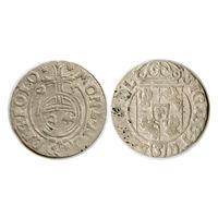 Полторак 1625 г. Быдгощ. Сигизмунд III Ваза. - (САС в открытом щите)