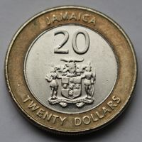 Ямайка, 20 долларов 2008 г.