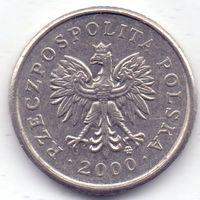 Польша, 10 грошей 2000 года.