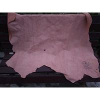 Кожа пр-ва Гатово 1991 год СССР - остатки швейного производства - см описание и фото