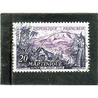 Франция. Mi:FR 1069. Мартиника. Ле Мон Пеле. Серия: туризм.1955.