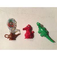 Киндер серия волшебная лампа и драконы