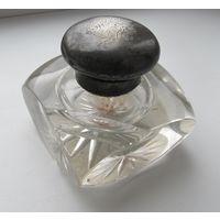 Чернильница,дворянский герб Bargen,серебро,фирма Koch&Bergfeld,  С РУБЛЯ