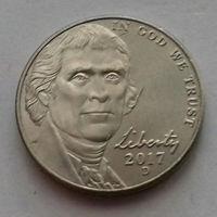 5 центов, США 2017 D, AU