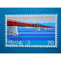 Исландия. 1978 г. Мi-535. Мост.