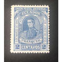 ЭКВАДОР\1456\ Эквадор 1895 Генерал Антонио Элизальде. военный мундир MH