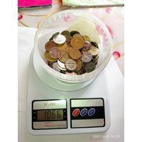 1 кг . Монет разных стран мира 3 . С рубля .