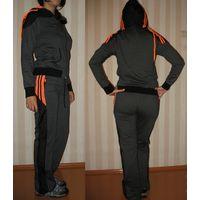 Спортивный костюм Athletic (Турция) новый 44-46р. (хлопок 76%)
