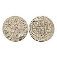 Полторак 1625 г. Быдгощ. Сигизмунд III Ваза. - (САС в закрытом щите)