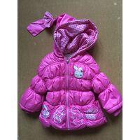 Куртка для девочки на 2-3 года