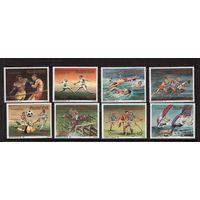Руанда-1984,(Мих.Бл.1275-1284) **  , Спорт, ОИ-1984