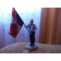Фигурка пожарного,  фирма Del Prado, олово (оригинал)