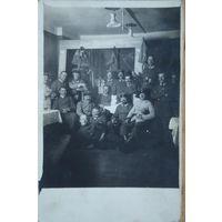 Группа военных. 1-я мировая война. 1915 г. Германия. Подписана