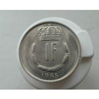 1 франк 1965 Люксембург