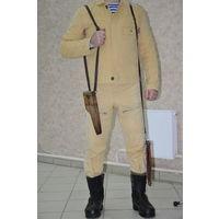 """Из фондов музея: оригинальный СОВЕТСКИЙ костюм лётчика-вертолётчика для """"жаркого"""" климата.Новый.Куртка точно 50-3,брюки48-50-3."""