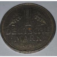 ФРГ 1 марка 1981