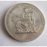 Австрия, 2 флорина, 1879, серебро