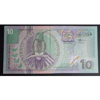 Суринам. 10 гульден 2000 [UNC]
