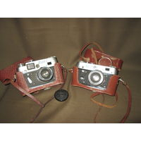 Фотоаппарат 2 шт. ФЭД-4.