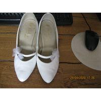 Свадебные туфли СССР Венгрия