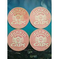 Фишки Dunkin CAPS
