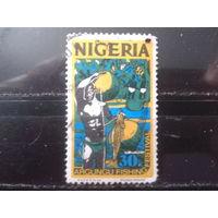 Нигерия 1973 Стандарт 30 кобо рыболов