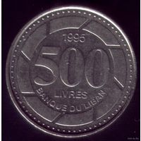 500 Ливров 1995 год Ливан