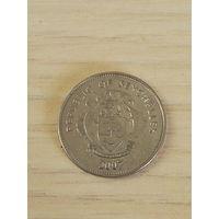 Сейшельские о-ва 25 центов 2007г.