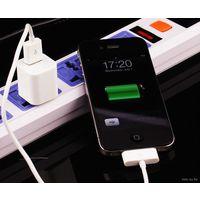 USB кубик зарядное для Apple iPhone Apple iPod Apple