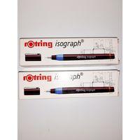 Для черчения тушью два изографа 0,18 и 0,13 ROTRING (за оба)
