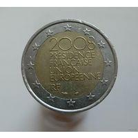 2 евро 2008 Франция Председательство в ЕС